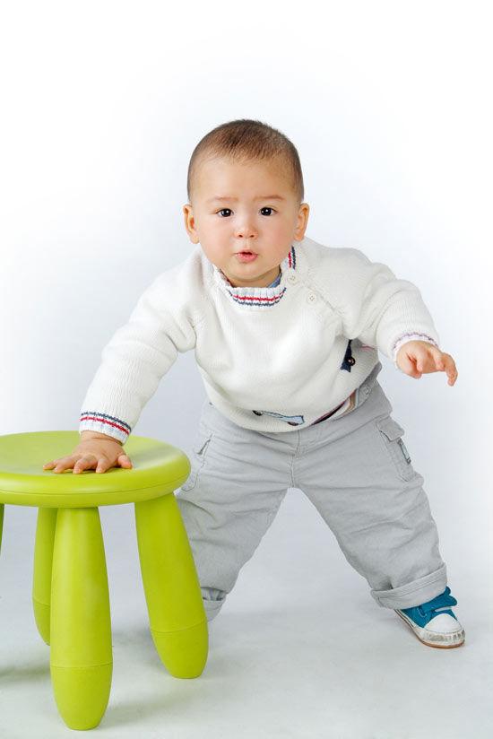 超级可爱的混血宝宝儿童摄影