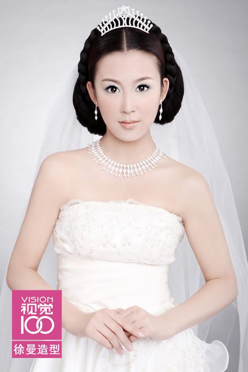 新娘唯美妆面造型图片