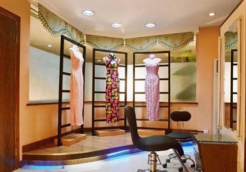 橱窗影楼装修设计效果图- 奢华,简约与时尚