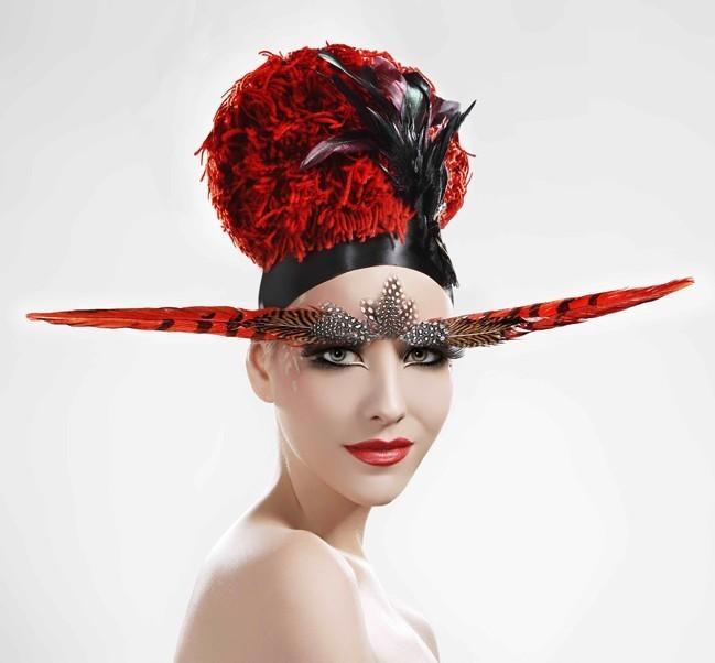 拂面中国风(2)_化妆造型图片