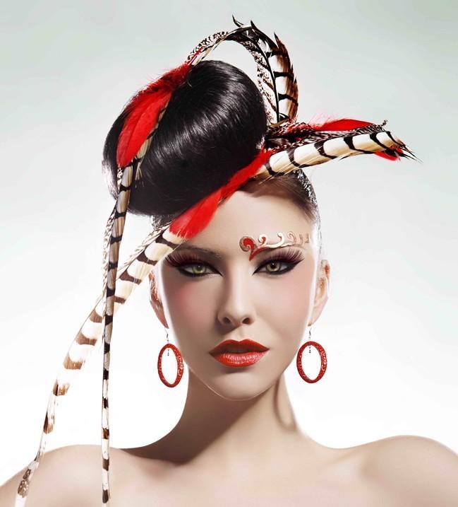 拂面中国风(7)_化妆造型图片