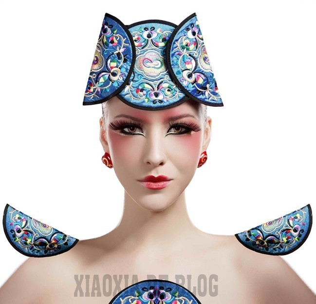 拂面中国风(6)_化妆造型图片