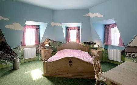個性化臥室裝修設計--實景影棚裝修設計