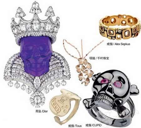 史上最奢华的钻石骷髅头