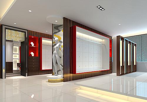 影楼橱窗及外展装修设计--装修效果图