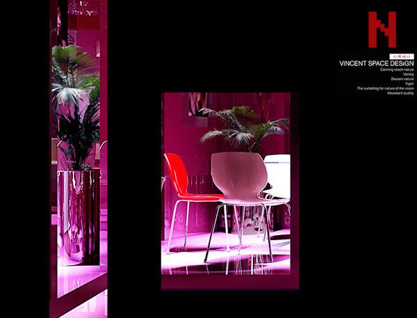 粉红个性化装修设计 装修装饰设计效果