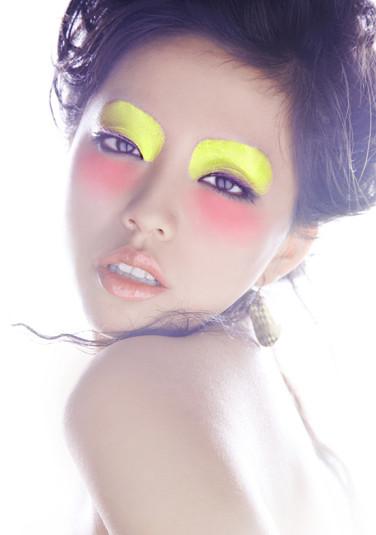 时尚彩妆作品化妆造型图片