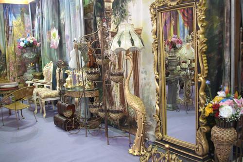 影楼欧式花艺造型风格家具图片