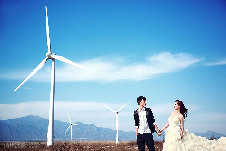 风车岛婚纱摄影