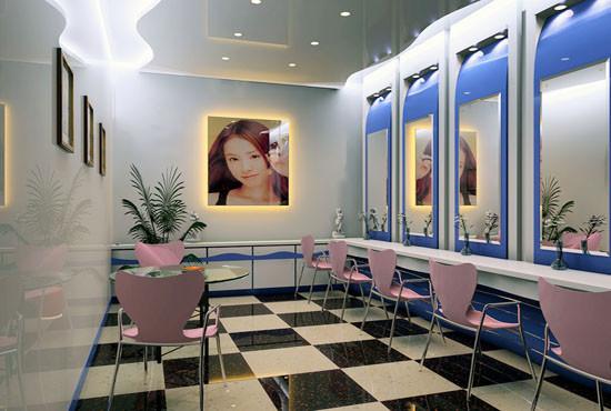 影楼化妆间装修展示图(2)_装修·橱窗·设计_影楼管理