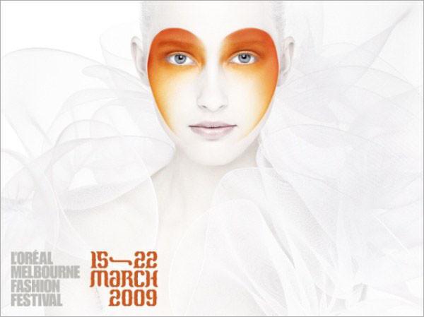 艺术彩妆海报设计