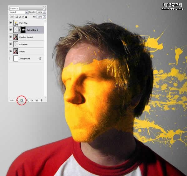 photoshopv橡皮一张布满橡皮的脸word绘制油漆的表格图片