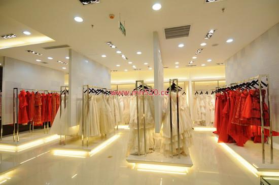 婚紗影樓效果圖 北京婚紗影樓設計裝修