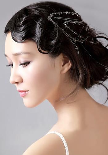 新娘发型图片_发型设计
