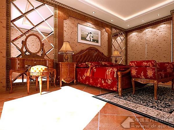 装修设计--欧式古典浪漫风格大厅(2)_装修·橱窗