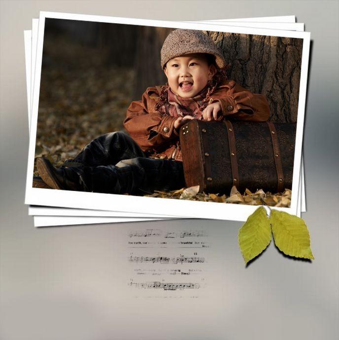 秋天的记忆儿童摄影