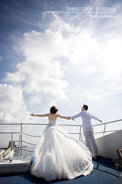 巴厘岛海景婚纱摄影