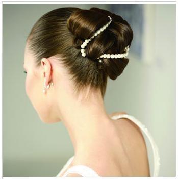 芭蕾圆髻图片