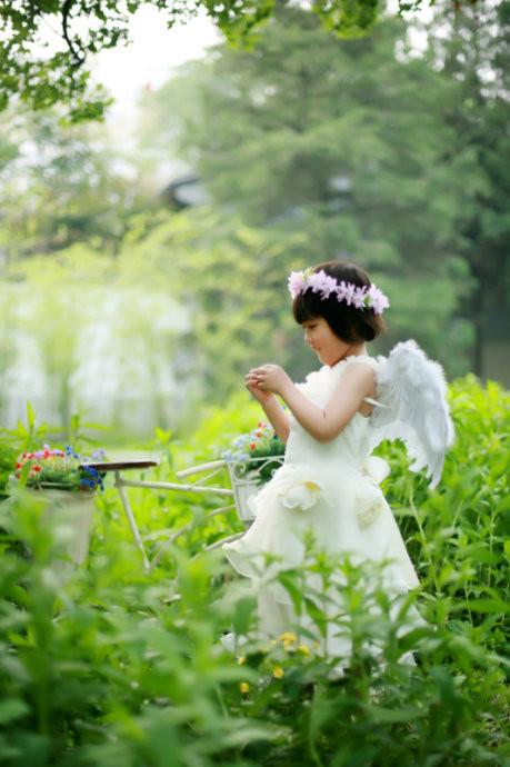 紫竹院外景(2)_儿童摄影_黑光图库_黑光网
