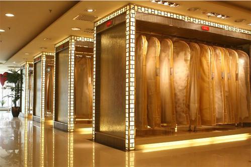 影楼多层礼服展示区设计效果图(3)_装修·橱窗·设计