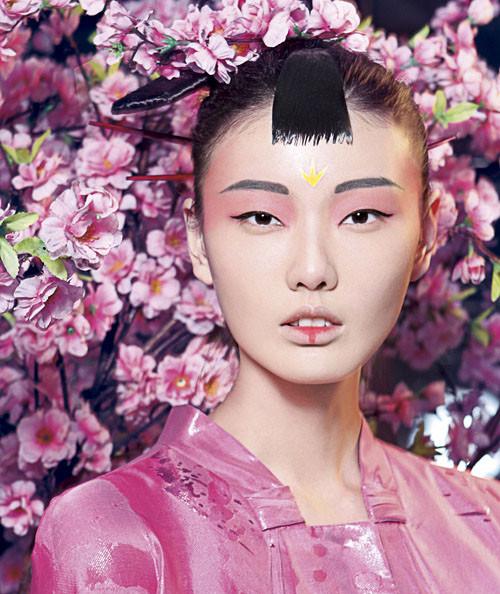 时尚中国风(7)_化妆造型图片