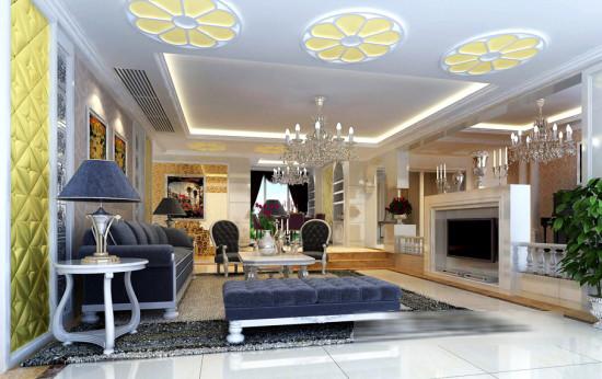 欧式风格--豪华室内装修效果图_装修·橱窗·设计