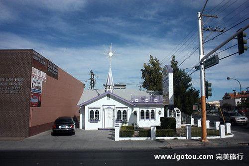 大牌明星的低调婚礼 拉斯维加斯小教堂大来头