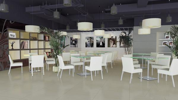 v2视觉大厅设计效果图_装修·橱窗·设计_影楼管理