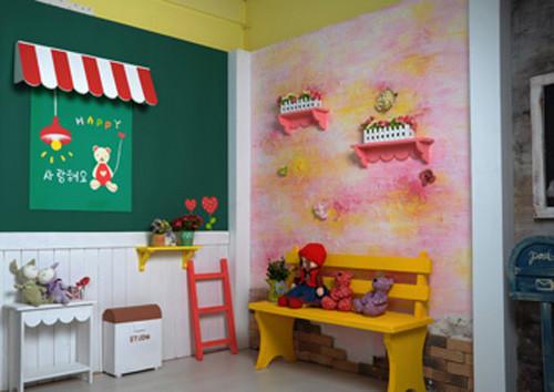 儿童影楼360度实景影棚