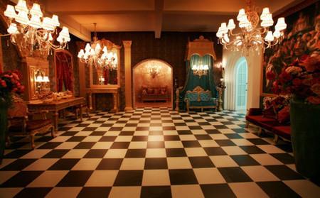 蒙娜丽莎欧式新派摄影宫殿实景影棚(3)图片