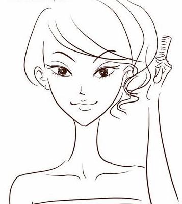 艺术线条盘发 夏日新娘最爱; 夏日新娘最爱 艺术线条盘发 - 时尚发型