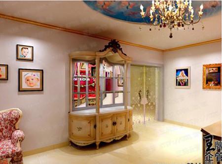 金色童话影楼装修图片高清图片