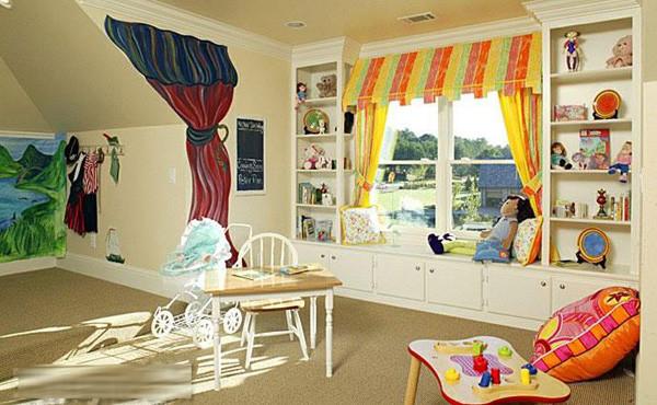 彩斑斓的世界 儿童影楼装修设计高清图片
