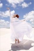 最新影樓資訊新聞-Photoshop調出海灘婚片潔凈的藍色調