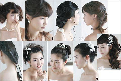 打造妩媚可爱卷卷新娘发型