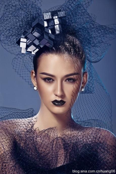 民族风妆面欣赏化妆造型图片