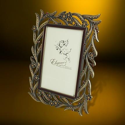 高贵典雅的欧式雕花色彩相架及首饰盒套装