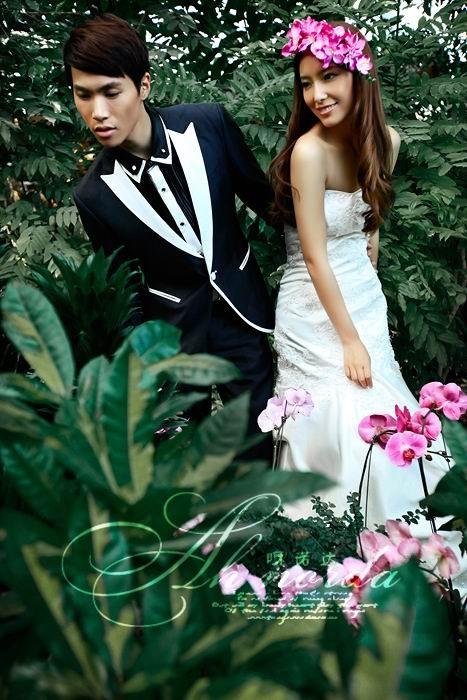 热带雨林; 糖果屋摄影; 漫步马德里主题婚纱照图片