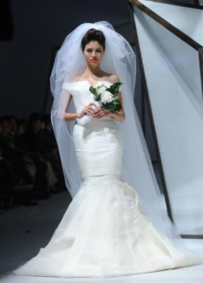 完美新娘的头纱战略图片