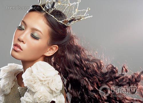新娘的童话公主妆容