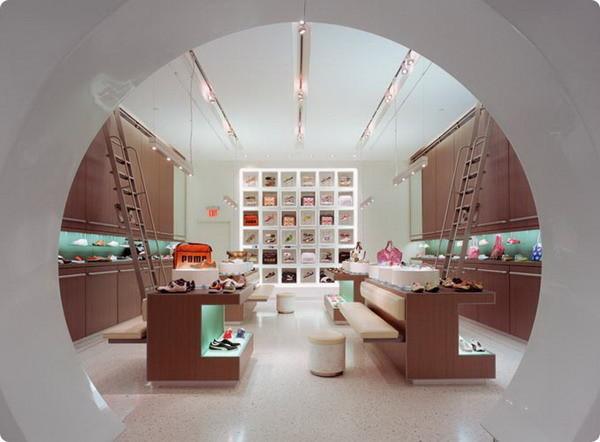 个性,时尚的店铺装修设计效果图