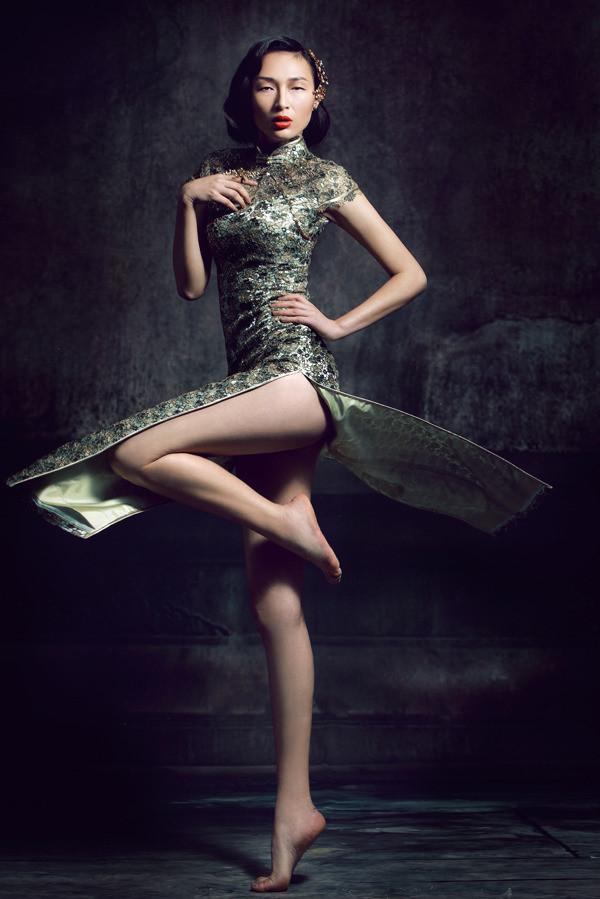 中国旗袍写真摄影
