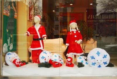 儿童影楼圣诞节装修美图_装修·橱窗·设计_影楼管理