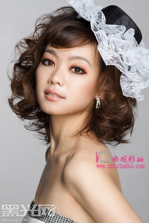 韩式新娘(全)_化妆造型_黑光图库_黑光网