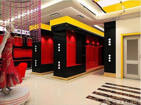 红色风情--影楼装修设计