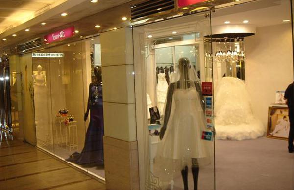百合新娘香港店装修效果