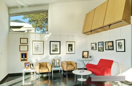 工作室简约风格装修设计欣赏