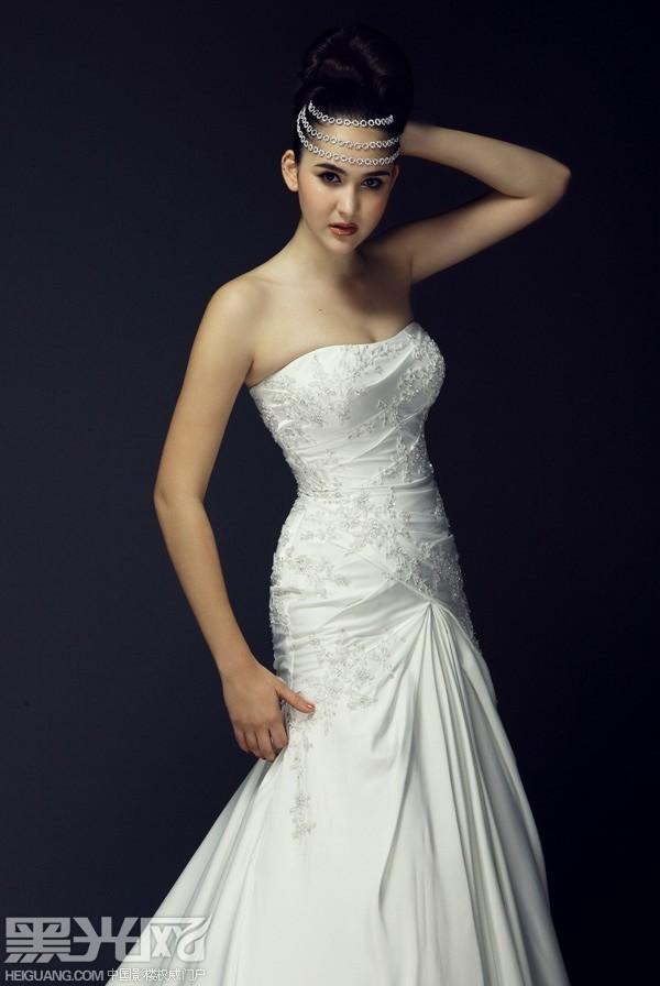 新娘婚纱 绝美造型化妆造型