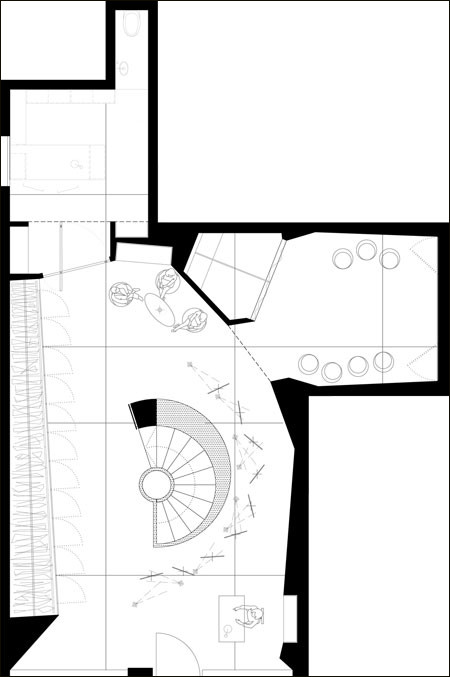 婚纱店装饰设计的平面图