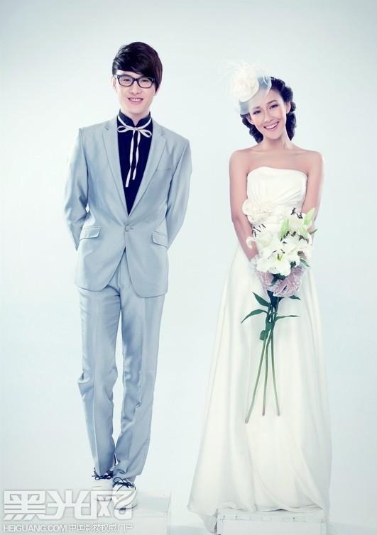 韩式婚纱(5)_化妆造型
